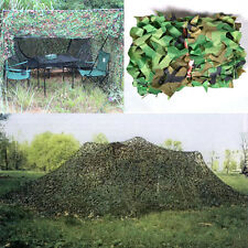 Woodland leaves Camouflage Camo Blinds Army Net Netting Camping Military Hunting