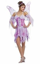 SALE! Adult Butterfly Fairy Princess Ladies Fancy Dress Hen Party Costume Outfit