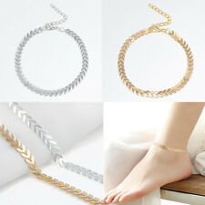Women Beach Barefoot Fish Ossicular Chain Anklet Bracelet Foot Chain Jewelry New