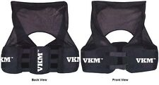 New VKM Football Lacrosse Rugby RIB Vest Pads Protect Spine & Kidney Adult S-XXL