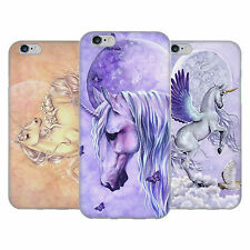 OFFICIAL SELINA FENECH UNICORNS SOFT GEL CASE FOR APPLE iPHONE PHONES