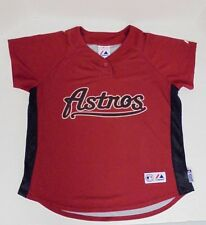 Houston Astros Youth Boys Girls Majestic Baseball Jersey Childs Large 14