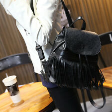 new Korean Fashion leisure personality Tassel shoulders tourism Ms. backpack