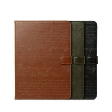 Zenus Lettering Leather Diary Protect Smart Cover Case For Apple iPad Air