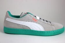 Men's PUMA Suede Classic LFS 35632811 Gray Violet/White/Teal New In Box
