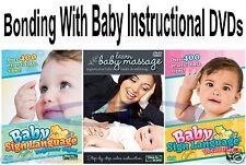 Bonding With Your BABY INSTRUCTION Video Tutorial DVDs NEW Factory Sealed