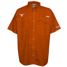 Columbia Texas Longhorns Burnt Orange PFG Bonehead Short Sleeve Shirt