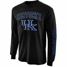 Kentucky Wildcats Black Arch & Logo Long Sleeve T-Shirt