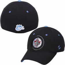 Zephyr Winnipeg Jets Navy Blue Breakaway Flex Hat - NHL