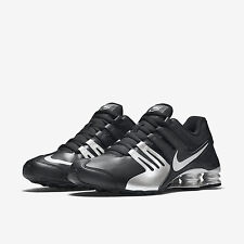 NIKE Shox Current Black/Silver Running Shoes 633631 015 RAIDERS NEW SHOES NWA