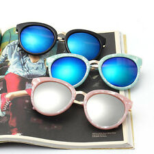 Popular Star Style Sunglasses Men Women Retro Vintage Round Frame Goggles 2356