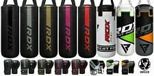 RDX Kids UnFilled Punch Bag Set Boxing Gloves MMA Training Kick Junior child A