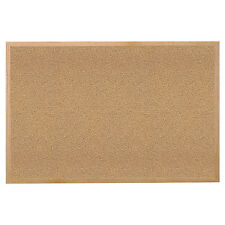 Wood Frame Office Conference School Business Natural Cork Bulletin Board