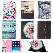 Patterned Pu Leather Smart Case Stand Cover For Apple iPad 2 3 4 Air Mini 4 Pro