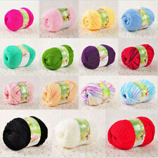 50g Super Soft Natural Cotton Wool Silk Smooth Baby Sweater Yarn Knitting Ball