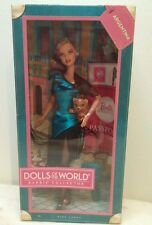 Barbie Collector Dolls of the World Argentina Pink Label New in Box Ages  6+