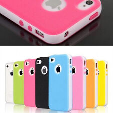 iPhone 5 5S Rubber Soft Silicone Gel Skin Bumper TPU Case Cover