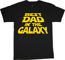 Funny fathers day shirt gift for dad tee funny dad saying best dad in the galaxy