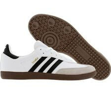 Adidas Samba Men's Soccer Shoes (White/Black/Gum) G17102*