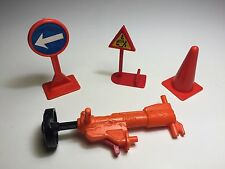 The Incredible Crash Dummies Jack Hammer Weapon Shoulder Cannon Parts Assorted