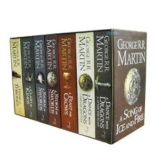 A Game of Thrones Box Set Song of Ice and Fire 7 Books Collection, Volume 1 to 5