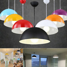 "12"" Retro Metal Ceiling Pendant Lamp Shade Light Lampshade Modern Dome Lighting"