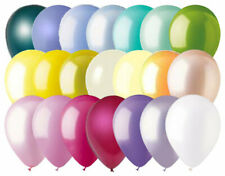 "24- 12"" Solid Latex Balloons Spring Inspired Color Palette Easter Wedding Flower"