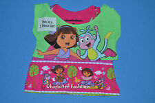 DORA THE EXPLORER Shirt Tee Top Size 12 18 Months 3T 4T Girls BOOTS