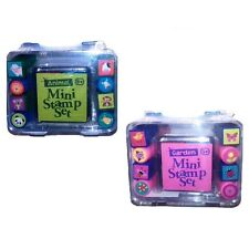 Assorted Mini Stamp Set - 8 Stampers & Multi-Coloured Ink Pad (1 Supplied)