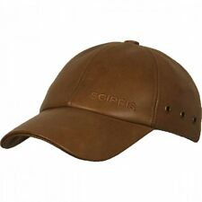 Australian Buffalo Leather Cap, oiled buffalo hide, adjustable, new