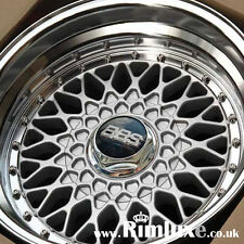 """LENSO BSX BBS RS STYLE DEEP DISH STAGGERED 15"""" 16"""" 17"""" 19"""" ALLOY WHEELS RIMS"""
