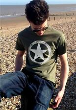 US Army WWII Military White Star Retro M*A*S*H Mens vintage T-shirt all sizes