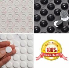 3M Silicone RUBBER FEET Bumpons - CLEAR or BLACK - Round Self Adhesive Circles