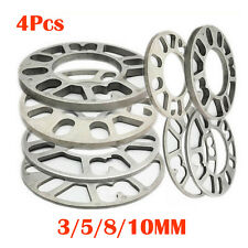 4pcs Car WHEEL SPACERS UNIVERSAL 3-10mm THICK MULTI FIT 4-stud & 5-stud AU Stock