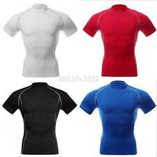 Men Compression Outdoor Sports Tight Shirts Base Layer Tops M-XL Tee Shirt Tank
