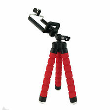 Mini Tripod Flexible Octopus Holder Stand Spong Clip For Mobile Phones Camera