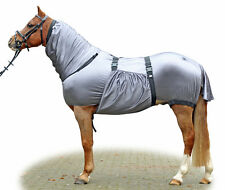 HKM Sweet Itch Horse UV Fly Bug Rug | Combo Neck Cover | Belly Flap ALL SIZES