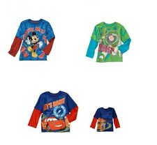 MICKEY MOUSE CARS BUZZ LIGHTYEAR 2T 3T 4T 5T Shirt Tee DISNEY TOY STORY MCQUEEN