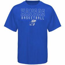 Kansas Jayhawks Frame Basketball T-Shirt - Royal Blue