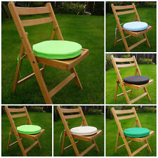 Round Garden Chair Cushion Pad Waterproof Outdoor Bistro Stool Patio Dining Seat