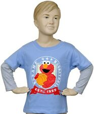 NWT Sesame Street Elmo Basketball Toddler Long Sleeve Tee Shirt - Size 4T
