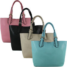 Fashion Womens Office Designer Handbag Faux Leather Celebrity Tote Ladies Should