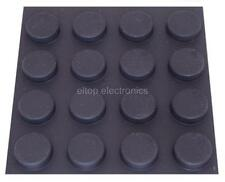 16x Round Rubber Foot Self-Adhesive Black Feet for Laptop Tablet Worktop #RF03