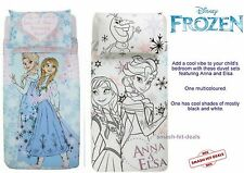 Disney Frozen Single Duvet Cover Set Anna Elsa - FREEPOST