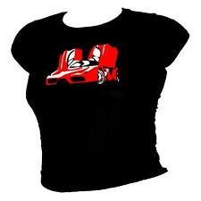 Ferrari Enzo Legendary supercar 100% cotton T-shirt - ladies all sizes