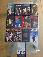 k7 video vhs QUEEN Freddie Mercury au choix