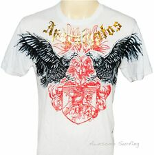 ARTFUL COUTURE EAGLE TATTOO T-SHIRT Size L HEAVY METAL EXTREME ROCK PUNK MUSIC