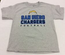 Outerstuff Short-Sleeve San Diego Chargers T-Shirt, Gray, Boys