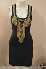 NWT GUESS by Marciano Jazzalyn Dress Bandage Embellished Clubwear Size S
