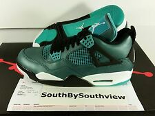 $250 Nike Air Jordan 4 Teal Size 9.5 With Receipt tropical green iv DS